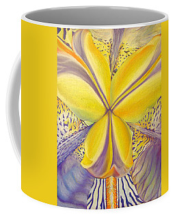 Coffee Mug featuring the drawing Iris by Joshua Morton