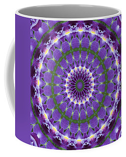 Coffee Mug featuring the photograph Iris Kaleidoscope  by Denise Beverly