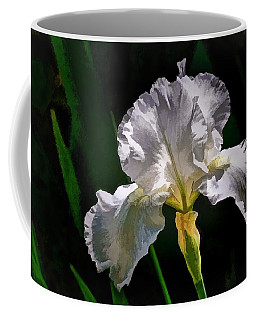 Iris Coffee Mug by Ludwig Keck