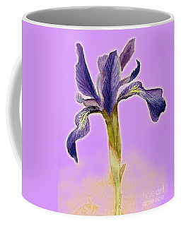 Iris On Lilac Coffee Mug