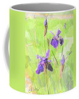 Iris Purple Watercolor 13 Coffee Mug