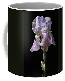 Iris Coffee Mug by Trina  Ansel
