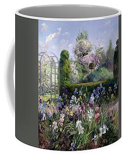 Irises In The Formal Gardens, 1993 Coffee Mug