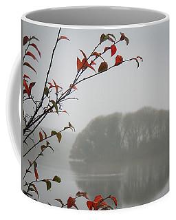Irish Crannog In The Mist Coffee Mug