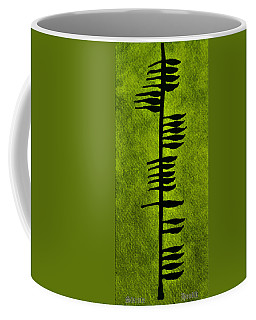 Irish Ogham Meaning Health Coffee Mug