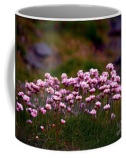 Irish Sea Pinks Coffee Mug