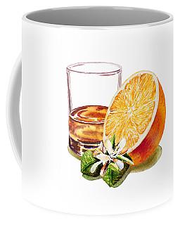 Irish Whiskey And Orange Coffee Mug by Irina Sztukowski