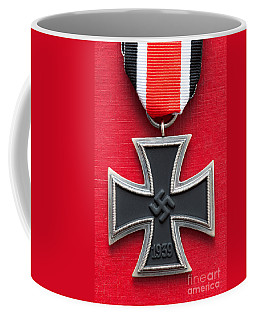 Iron Cross Medal Coffee Mug by Lee Avison