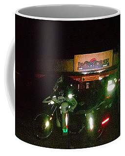 Iron Horse Lodge Evening Coffee Mug