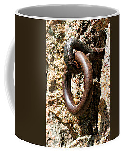 Iron Rings In Stone Coffee Mug