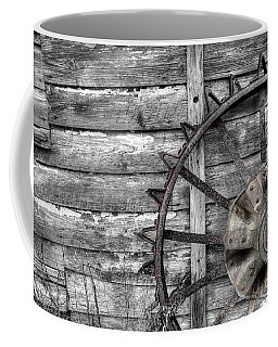 Iron Tractor Wheel Coffee Mug