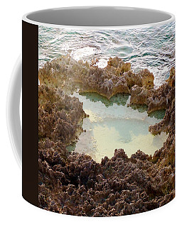 Coffee Mug featuring the photograph Ironshore Tidewater Pool by Amar Sheow