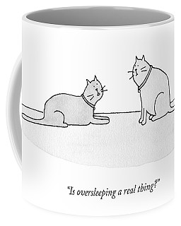 Is Oversleeping A Real Thing? Coffee Mug