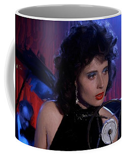 Isabella Rossellini In The Film Blue Velvet Coffee Mug