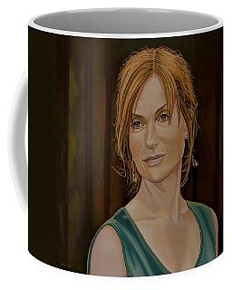 Isabelle Huppert Painting Coffee Mug