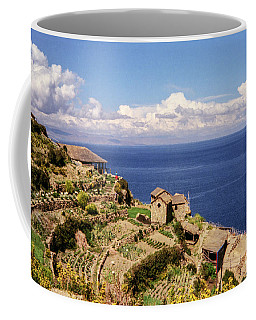 Coffee Mug featuring the photograph Isla Del Sol by Suzanne Luft