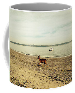Island Deer Coffee Mug