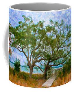 Island Time On Daniel Island Coffee Mug