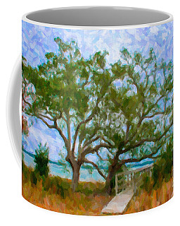 Island Time On Daniel Island Coffee Mug