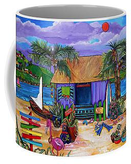 Coffee Mug featuring the painting Island Time by Patti Schermerhorn