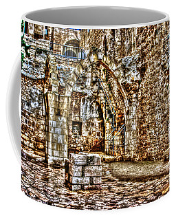 Coffee Mug featuring the photograph Israels Ruins by Doc Braham
