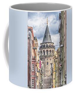 Istanbul Galata Tower Coffee Mug by Antony McAulay