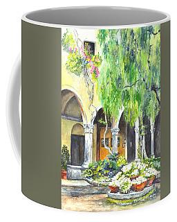 Coffee Mug featuring the painting The Italian Villa by Carol Wisniewski