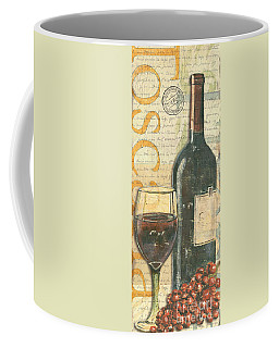 Italian Wine And Grapes Coffee Mug