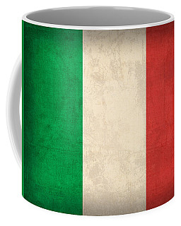 Italy Flag Vintage Distressed Finish Coffee Mug