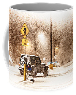 It's A Jeep Thing Coffee Mug by Sennie Pierson