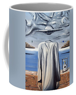Coffee Mug featuring the painting Its All In Your Head by Ryan Demaree