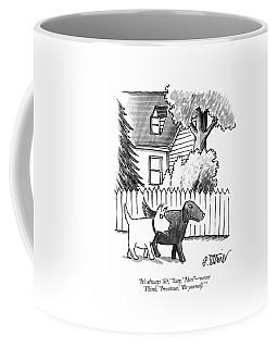 It's Always 'sit Coffee Mug by Peter Steiner