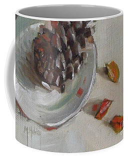 Pine Cone Still Life On A Plate Coffee Mug