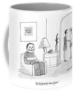 It's His Favorite Time Of Year Coffee Mug