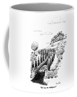It's My One Indulgence Coffee Mug