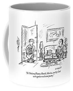 It's National Poetry Month Coffee Mug