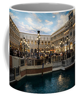 It's Not Venice Coffee Mug by Georgia Mizuleva