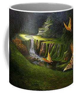 Gods Promise Coffee Mug by Loxi Sibley