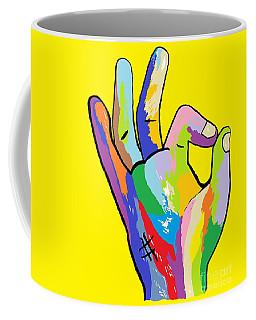 It's Ok Coffee Mug by Eloise Schneider