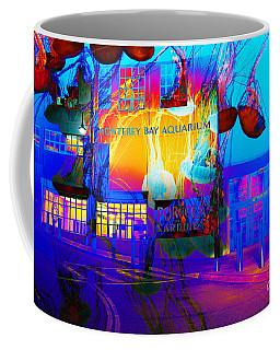 Its Raining Jelly Fish At The Monterey Bay Aquarium 5d25177 Coffee Mug