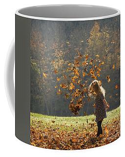 It's Raining Leaves Coffee Mug
