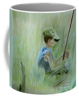 Ivan And The Red Rod Coffee Mug