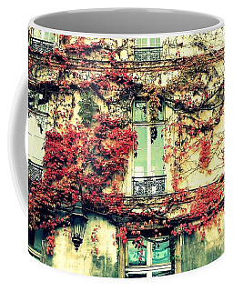Ivy Growing On A Wall   Coffee Mug by Richard Rosenshein