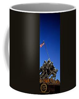 Iwo Jima Memorial At Arlington National Coffee Mug