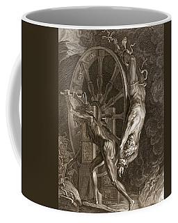 Ixion In Tartarus On The Wheel, 1731 Coffee Mug