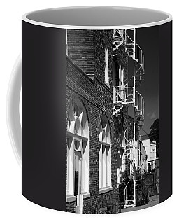 Jacaranda Hotel Fire Escape Coffee Mug