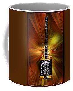 Jack Daniels Whiskey Guitar Coffee Mug