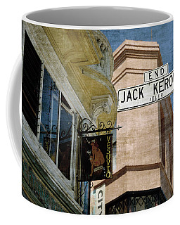Jack Kerouac Alley And Vesuvio Pub Coffee Mug