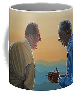 Jack Nicholson And Morgan Freeman Coffee Mug