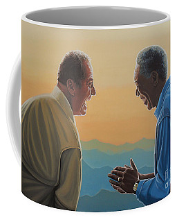 Jack Nicholson And Morgan Freeman Coffee Mug